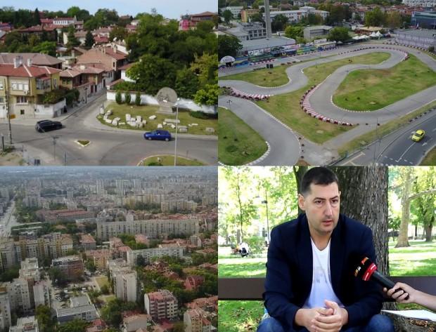 Кметът Иван Тотев застава пред камерата на Plovdiv24.bg за коментар
