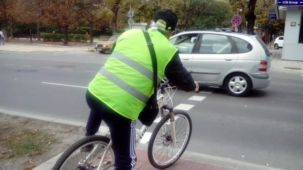Снимка: Серия ПТП-та с велосипедисти във Варна