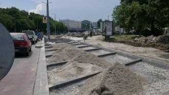 Снимка: Правят нова детска площадка до Голямата базилика