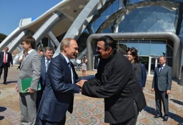 След като получи руски паспорт и стана официален представител на