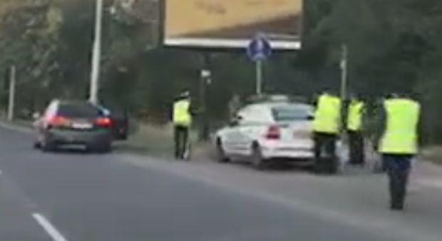 Специализирана акция на полицията на булевард