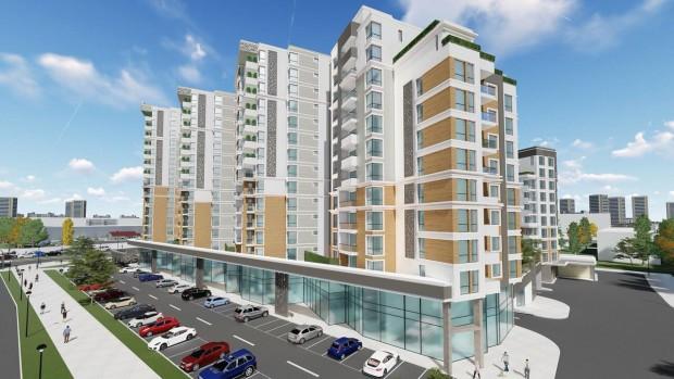 Уникален жилищен комплексна входа на Тракия ще съчетава зеленина и