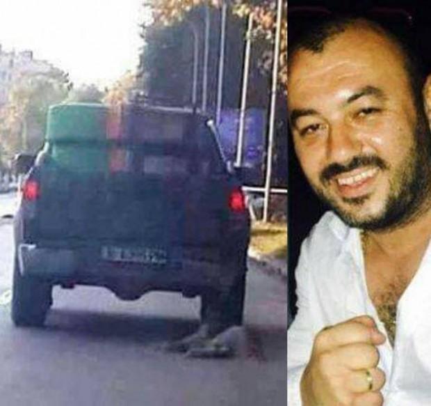Blagoevgrad24.bg Близки на Николай Христов, собственик на пикапа, влачил куче по