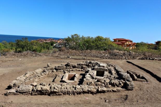 През месец септември екип от археолози под ръководството на д-р
