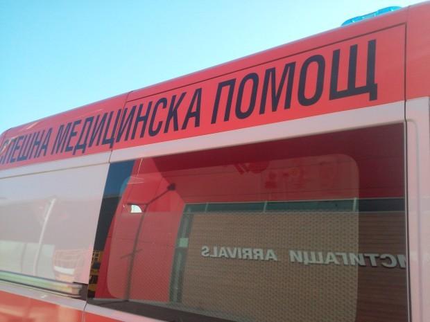 <div Моторист катастрофира лошо край Бръшлян.На 14.10.т.г. около 15.00 ч.