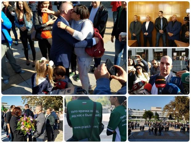 Blagoevgrad24.bg виж галерията Бившият граничен полицай Михаил Цонков и неговите колеги
