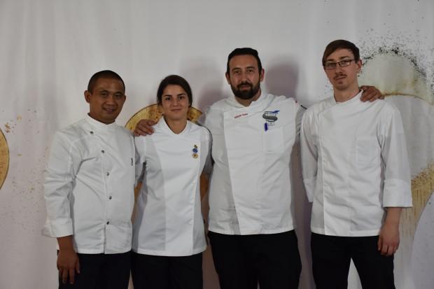 Една седмица на съревнование в различни кулинарни категории прекараха студентите