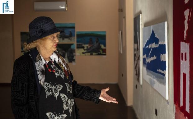 Сцена на експозицията бе новото културно арт пространство на Бургас: