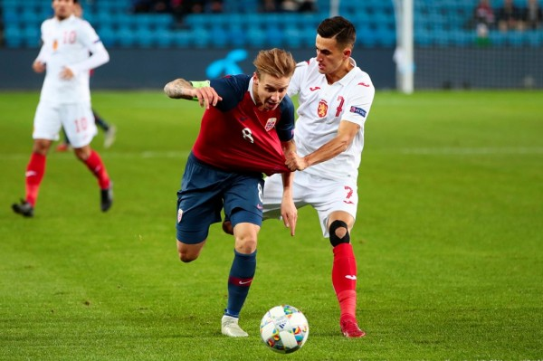 България загуби от Норвегия с 0:1 като гост в четвъртия