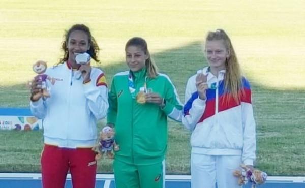 Александра Начева спечели пети златен медал за България от младежките