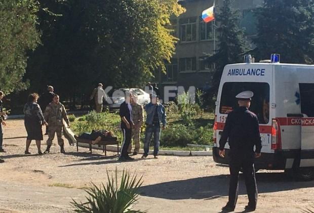 Неидентифицирано взривно устройство избухна в Политехническия колеж в Керч, град