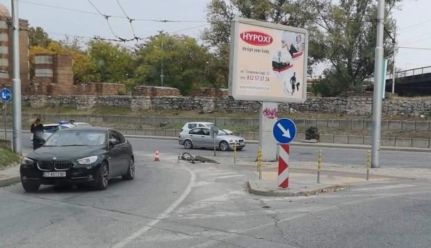 БМВ блъсна велосипедист в Пловдив, научи Plovdiv24.bg. От полицията съобщиха