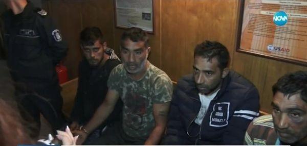 Съдът остави за постоянно в ареста четиримата мъже, които нападнаха