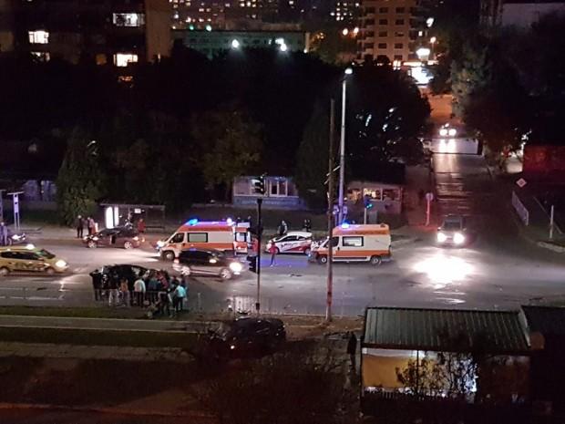 Фейсбук Тежка катастрофа на бул.