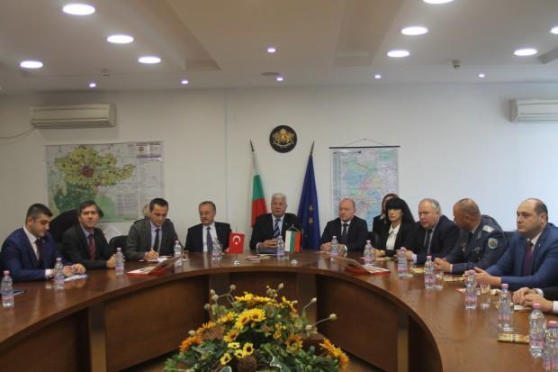 Областният управител на Одрин Гюнай Йоздемир бе на официално посещение