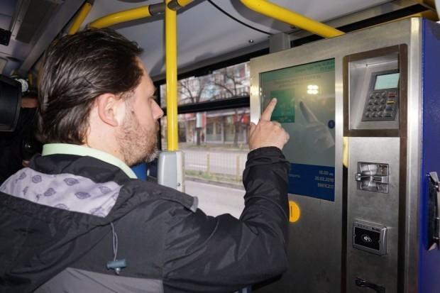 Електронният билет във Варна да важи не 60, а90 минути.