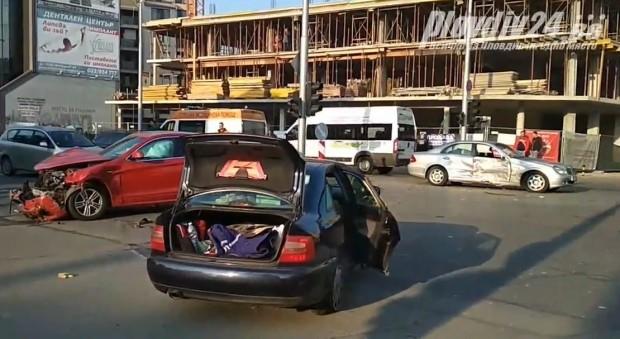 За катастрофа на кръстовището на булевард