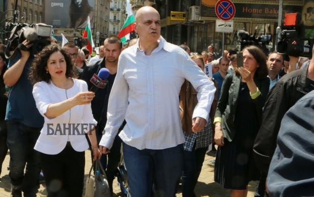 Слави Трифонов взе отношение по повод протестите, които се проведоха