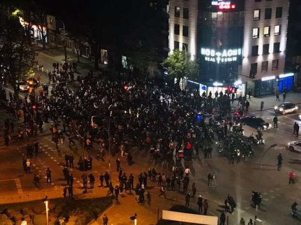 Фейсбук По време на протестното шествие, провело се във Варна на