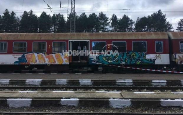 Снимка: След убийството жената скочила от влака в движение заедно с дете!