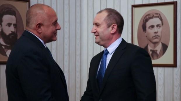 Министър-председателят Бойко Борисов приема поканата на президента Румен Радев за