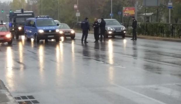 50 автомобила от Пловдив потеглиха на протестно шествие към Пазарджик.