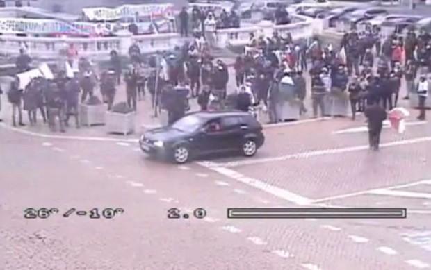 СДВР публикува инфарктни кадри на фейсбук страницата си от протеста,