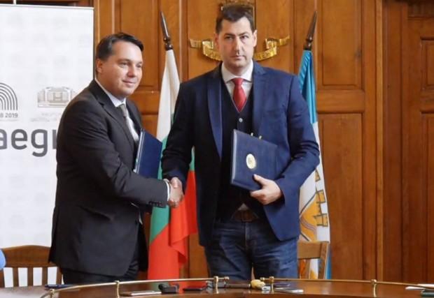 Кметът на Пловдив сключи важно партньорство в навечерието на Европейската