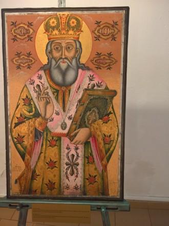 >Понастоящем около 10 икони от фонда на Историческия музей се