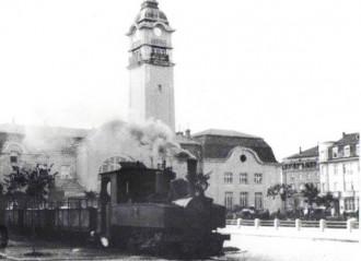 >Възстановка на вагон от известния преди близо век влак, който