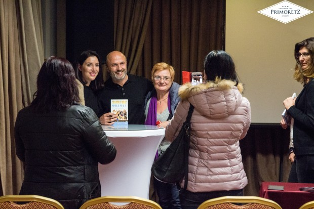Събитието събра широка публика в Гранд Хотел и СПА ПриморецРазказвачът