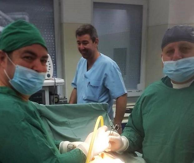 В клиниката по урология на УМБАЛ-Пловдив бе направено 500-то заместване