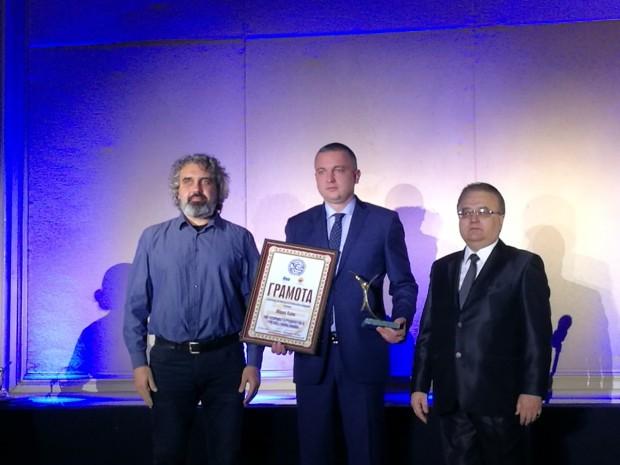 Община Варна получи награда от Българската хотелска и ресторантьорска асоциация