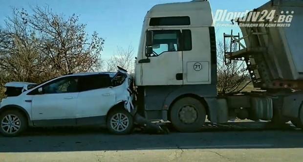 За пореден тежък инцидент на Околовръстното научи Plovdiv24.bg. Според очевидци