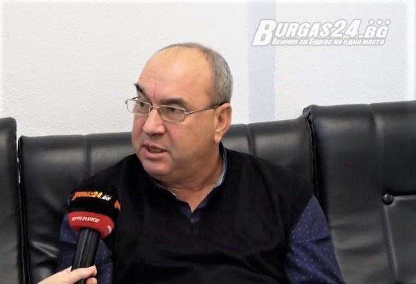 Дългогодишният служител на ВиК-Бургас Георги Стамболиев, за когото Burgas24.bg писа