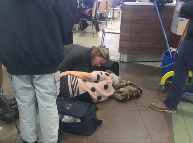 Шокиращ инцидент е станал днес в мол