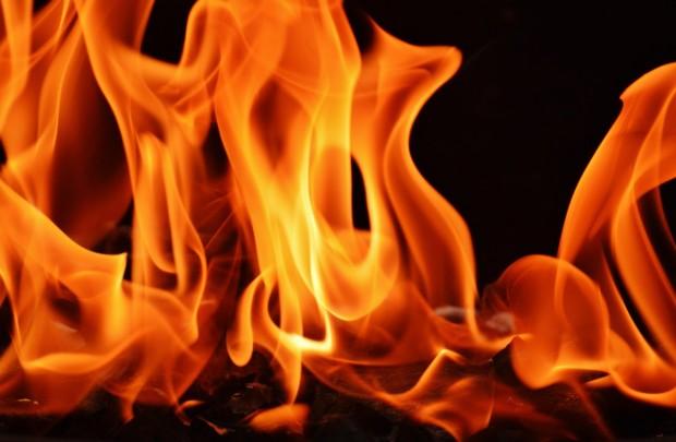 Днес около 02:24 часа е получен сигнал за пожар във