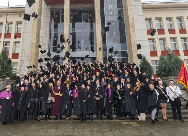 Абсолвентите от Университета по хранителни технологии получиха своите дипломи на