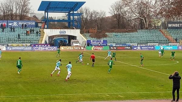Дунав загуби от Лудогорец с 0:0 в мач от 20-ия