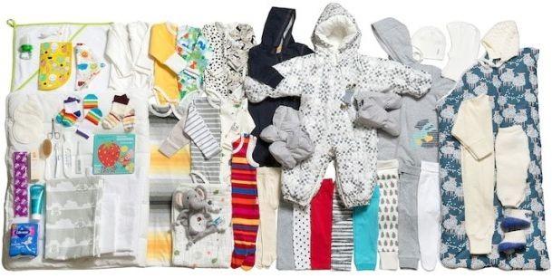 Kela Финландското социално министерство подарява на всяка майка всичко нужно за