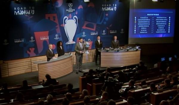 Днес в централата на УЕФА в Нион беше изтеглен жребият