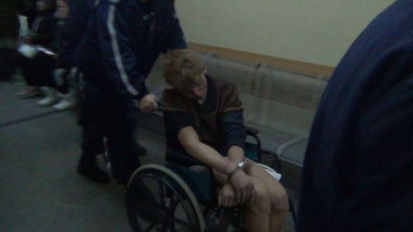 Опит да избяга от психодиспансера направи 25-годишният мъж, който снощи