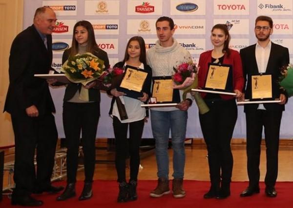 Министърът на младежта и спорта Красен Кралев връчи наградата