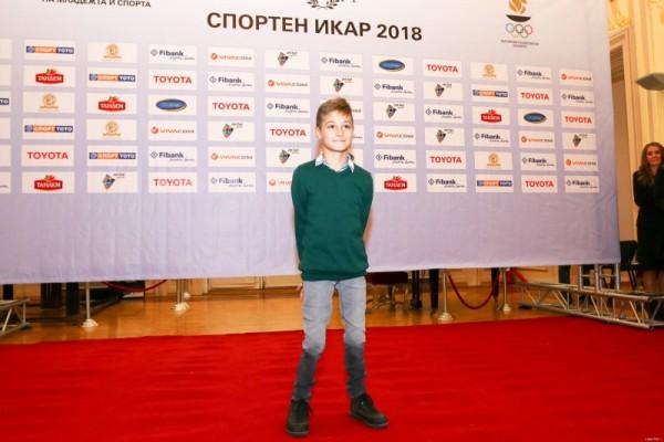 Снимка: БФС със специален жест към 10-годишен футболен герой