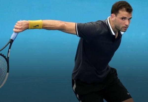 Григор Димитров стартира сезона с бърза победа с6:3, 6:4 над