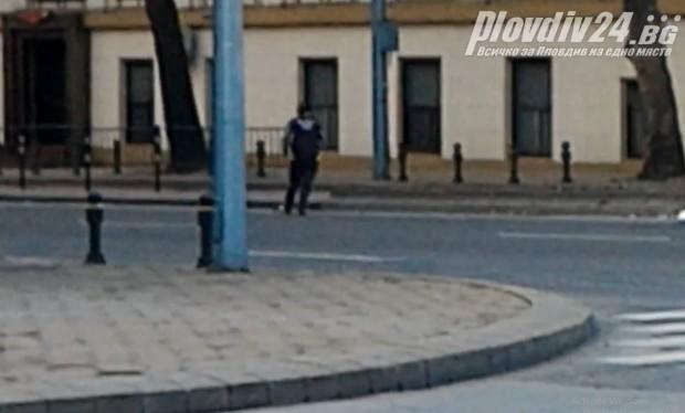 Пловдивчанка се възползва от затварянето на част от булевард
