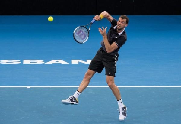 Григор Димитров приключи злощастно участието си в турнира в Бризбейн