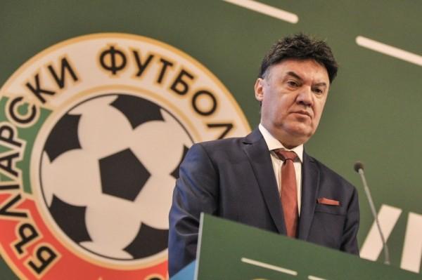 Снимка: Боби Михайлов с първо изявление след