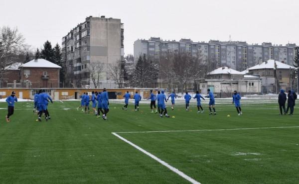 Снимка: Дунав почна подготовка на новото изкуствено игрище