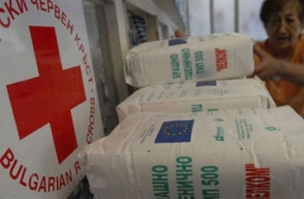 700 кг боб от партидата хранителни помощи за социално слаби